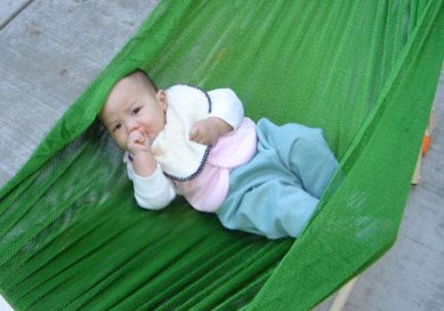 võng xếp dành cho em bé trẻ em Sao Mai