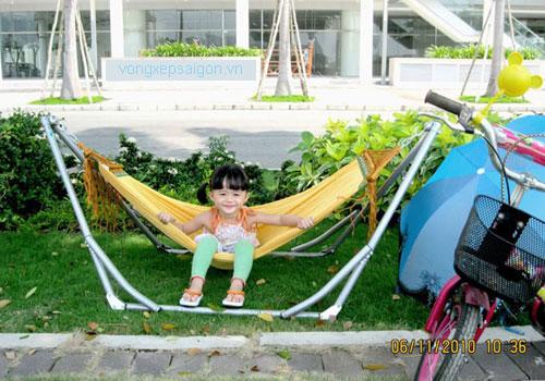 võng xếp Ban Mai cỡ nhỏ dành cho em bé trẻ em