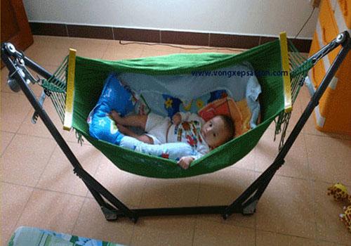 võng lưới cỡ nhỏ dành cho em bé trẻ em