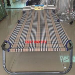 giường xếp vải bố cao cấp Duy Lộc