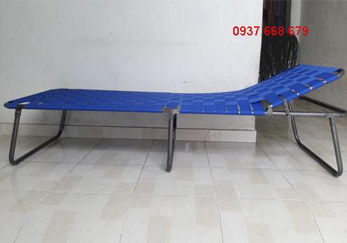giường xếp cao cấp duy lộc loại chân cao dây đan