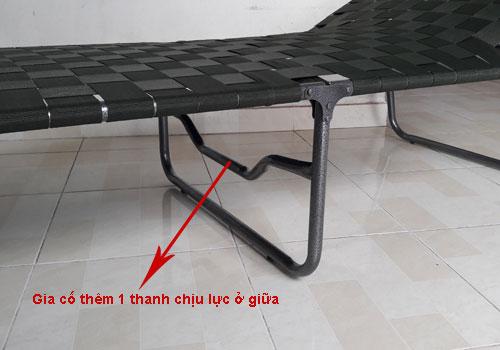 giường bố xếp duy lộc dùng ở văn phòng công ty