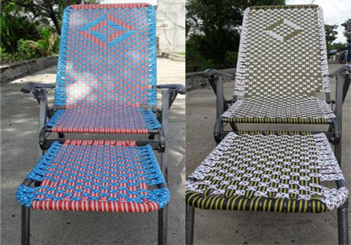 ghế xếp dây đan loại tốt duy lộc