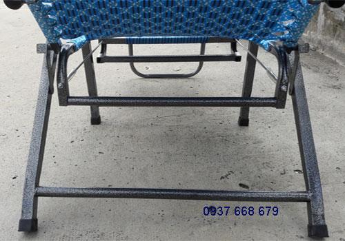 ghế bố xếp gấp gọn dây đan loại tốt giá rẻ duy lộc